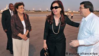 Cristina Fernández de Kirchner Besuch in Kuba