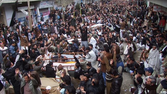 Bombenanschlag in Quetta Pakistan (AP)