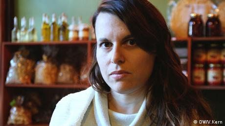 Nadia Kalogeropoulous, Porträt Foto: Vera Kern