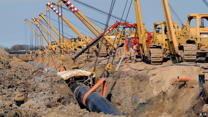 Будівництво Північного потоку (фото з архіву)