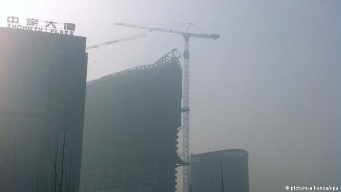 China Peking Smog