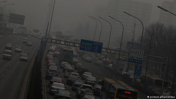 China Peking Smog