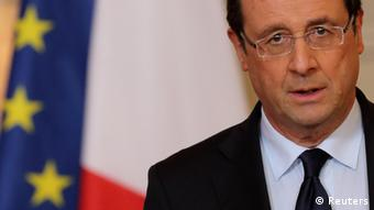France's President Francois Hollande REUTERS/Philippe Wojazer