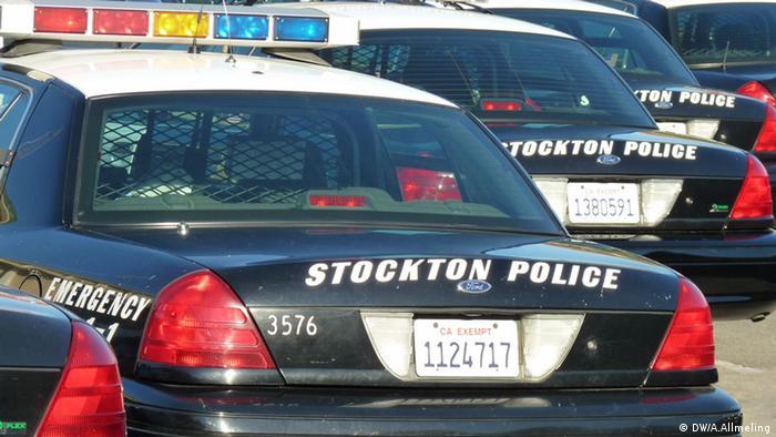 Полицейские автомобили в США