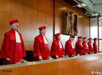 German Federal Constutional Court about to pronounce judgment