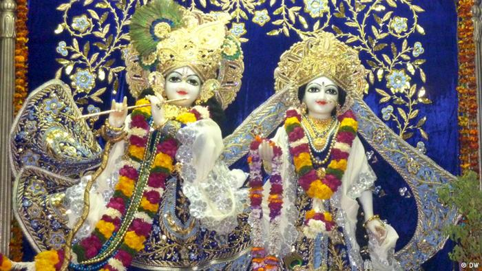 Indien Clothes of God Vrindavan