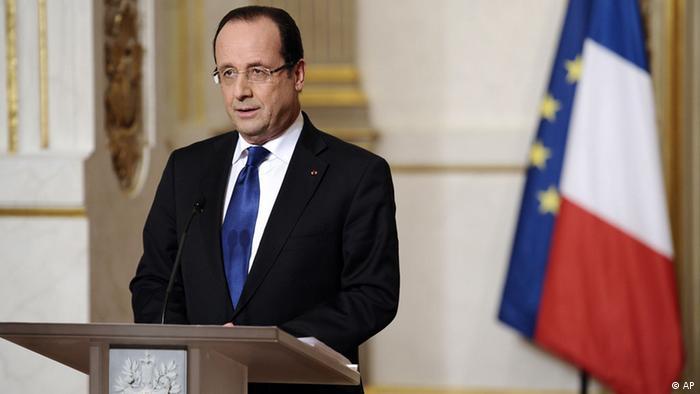 Mali Frankreich Konflikt Militäreinsatz Hollande Rede Elysee Palast