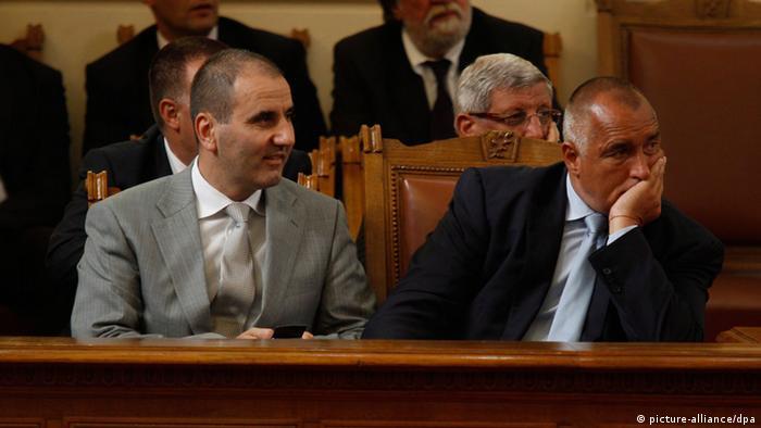 Premierminister Boyko Borisov Bulgarien Misstrauensvotum