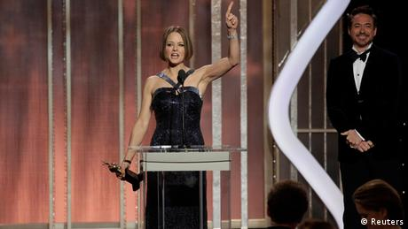 Golden Globe Awards Los Angeles USA 2013 Jodie Foster