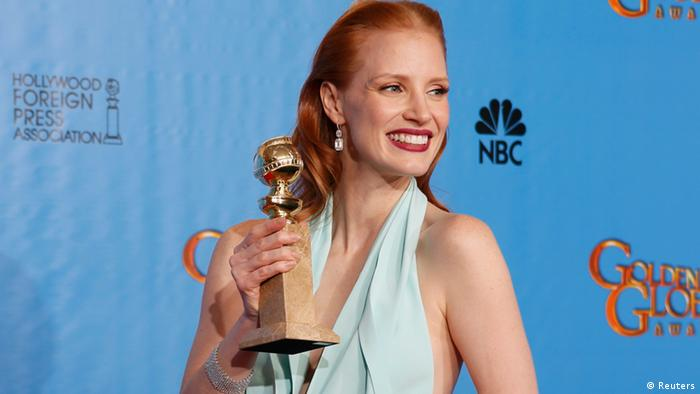 Golden Globe Awards Los Angeles USA 2013 Jessica Chastain