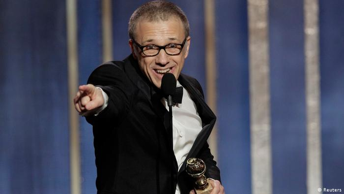Golden Globe Awards Los Angeles USA 2013 Christoph Waltz