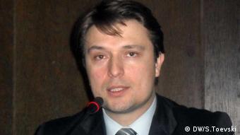 Mazedonien Minister für Informatik Ivo Ivanovski (DW/S.Toevski)