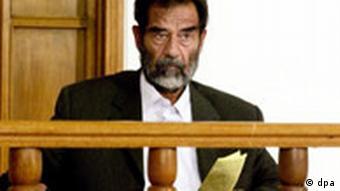 Saddam Hussein erneut vor Untersuchungsrichter