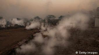 Luftverschmutzung in Indien