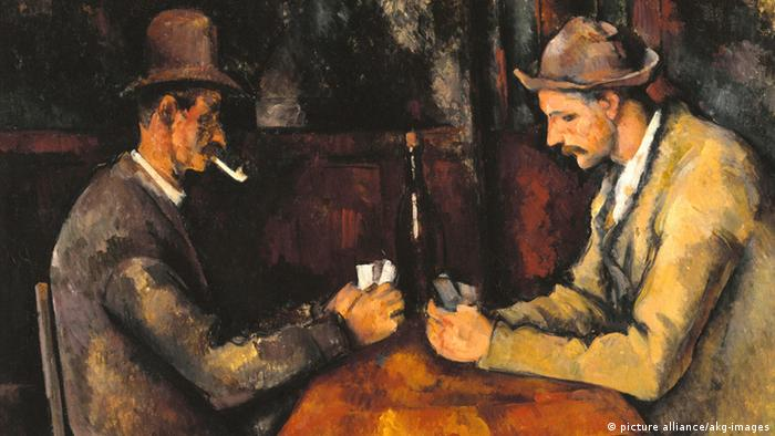 Paul Cézanne Les joueurs de cartes (picture alliance/akg-images)