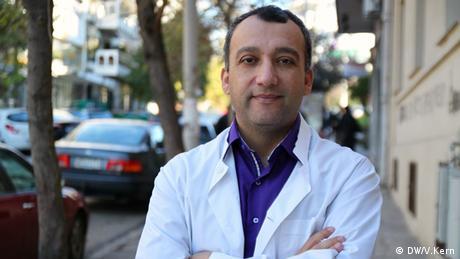 Michalis Charalampidis, Arzt aus Thessaloniki. Foto: Vera Kern