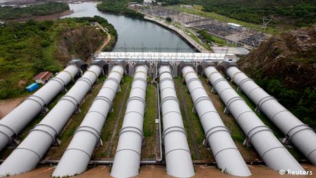 Brasilien Staudam Furnas