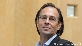 Andreas Zick, Sozialpsychologe Copyright: Universität Bielefeld Bild geliefert von Ulrike Hummel für DW/Klaus Krämer.