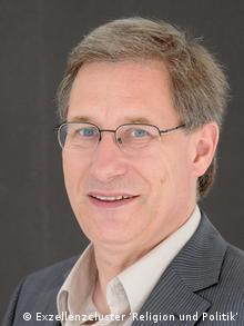 Detlef Pollack, Religionssoziologe Copyright: Exzellenzcluster 'Religion und Politik' Bild geliefert von Ulrike Hummel für DW/Klaus Krämer.