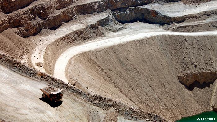 Chile, el mayor productor de cobre del mundo.