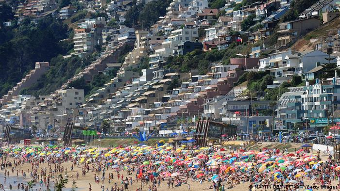 Viña del Mar in Chile (Foto: MARTIN BERNETTI/AFP/Getty Images)