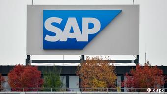 A picture of the German Software company SAP's logo (Photo: Ronald Wittek/dapd)