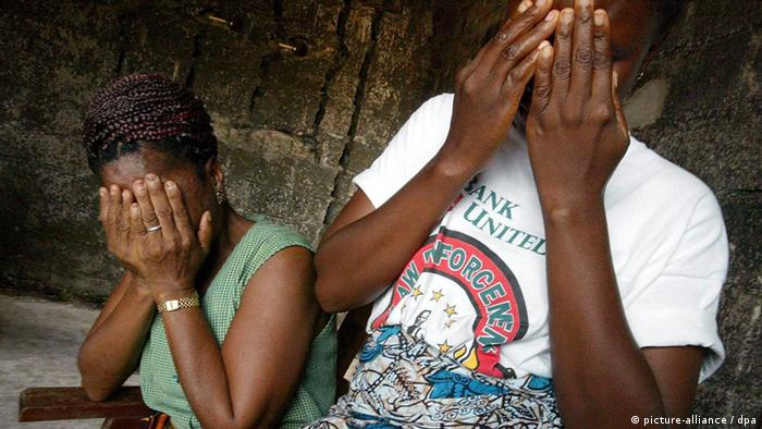 Mulheres que sofreram violência sexual