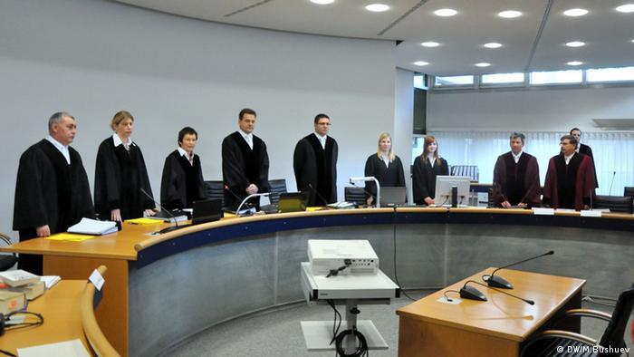 На открытии судебного процесса в Штутгарте по делу предполагаемых российских нелегалов