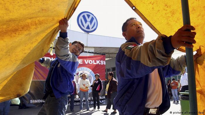 VW eröffnet sein 100. Werk