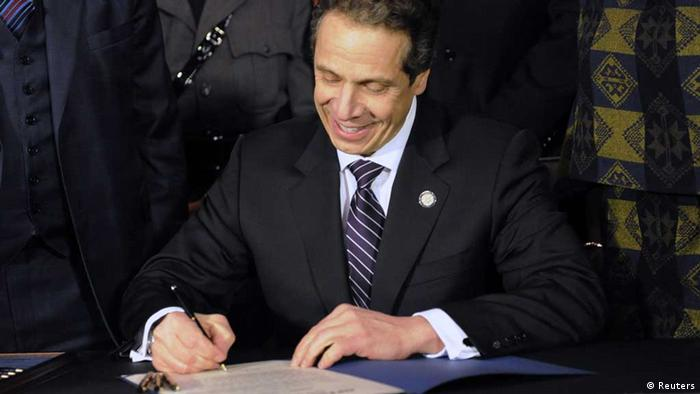 New York / Gouverneur / Andrew Cuomo / Waffengesetz