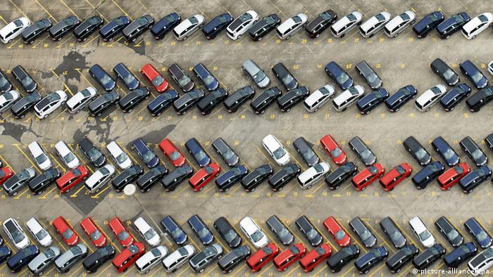 Symbolbild Krise im Automobilgeschäft