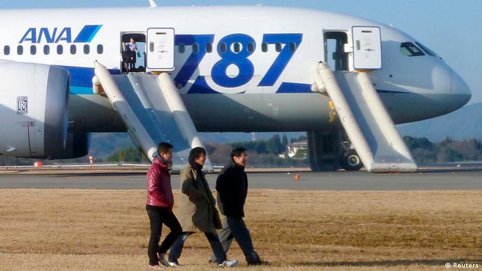 Лайнер Boeing 787 Dreamliner