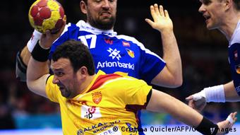 Handball WM Mazedonien vs Iceland 15.01.2013