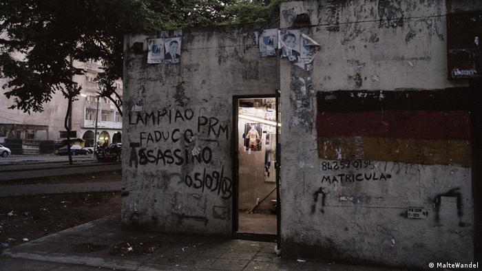 A base dos Madgermanes em Maputo