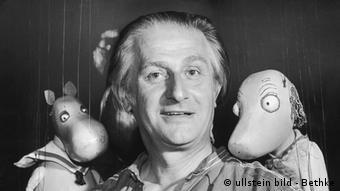 Создатель театра марионеток в Аугсбурге Вальтер Эмихен