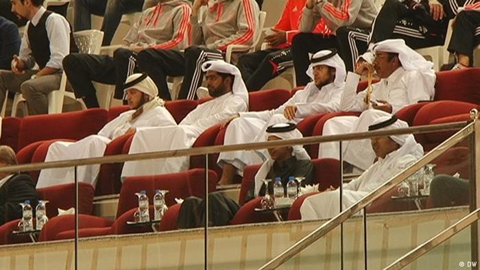 Šeici na tribinama u Kataru