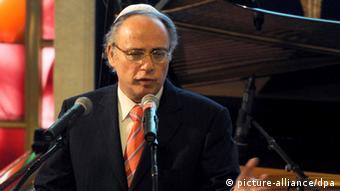 Der Präsident des Zentralrates der Juden, Dieter Graumann (Foto: Caroline Seidel/dpa)