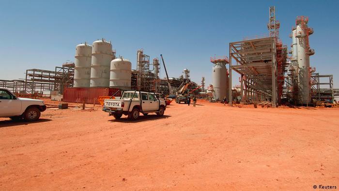 Algerien Islamisten nehmen 41 Geiseln Ölfeld