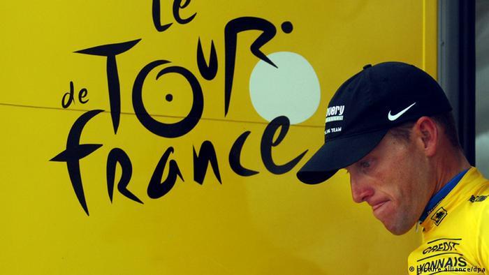 Lance Armstrong Tour de France Radsport