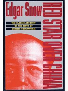 Red Star Over China von Edgar R. Snow Buchcover