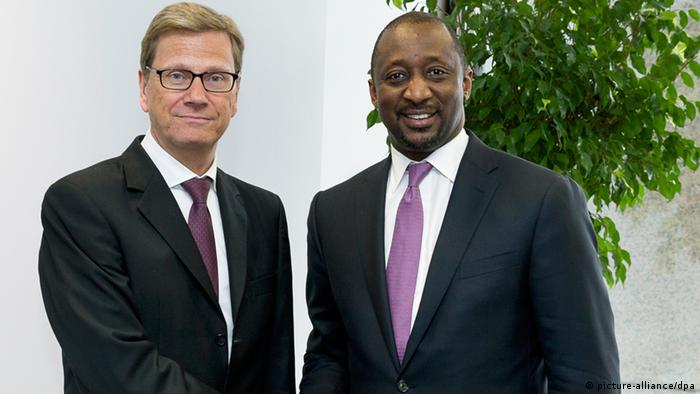 Guido Westerwelle dhe Tieman Coulibaly