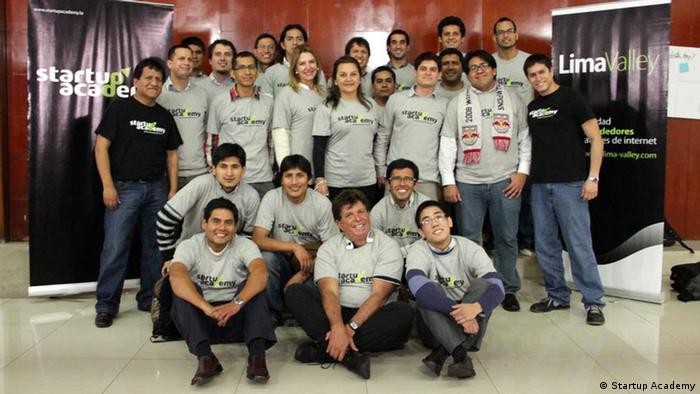 Startup Academy en Lima, Perú.