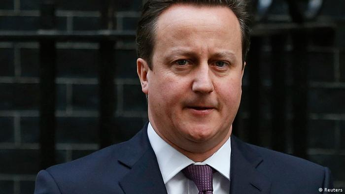 Britain's Prime Minister David Cameron (Photo: Olivia Harris/REUTERS)
