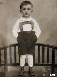 Ari Rath als Kind 1929 (Rechte: Ari Rath)