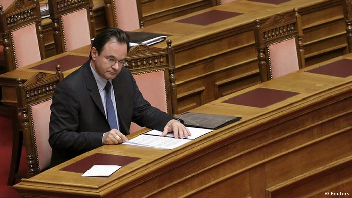 Greece's former Finance minister George Papaconstantinou (Photo: REUTERS/Icon/Giannis Liakos)