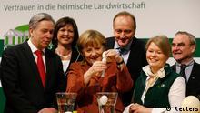 Από την επίσκεψη της Άγκελα Μέρκελ στην Πράσινη Εβδομάδα του Βερολίνου