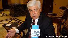Ο έλληνας υπουργός Αγροτικής Ανάπτυξης Θανάσης Τσαυτάρης