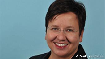 Ute Schaeffer, Deutsche Welle editor in chief for regionalized content Photo: DW/Per Henriksen