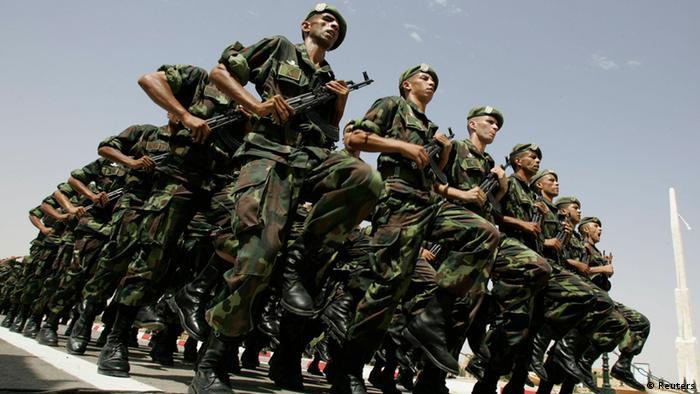 Algerien Spezialeinsatzkommando im Training ARCHIVBILD (Reuters)