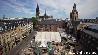 Les vestiges d'un quartier juif datant de l'époque romaine ont été retrouvés sous la place de l'hôtel de ville à Cologne, un musée doit y voir le jour en 2024
